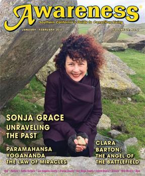 Awareness Magazine Cover Sonja Grace